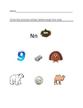 Nn Nest Homework Sheet #1