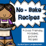 No Bake, Picture Recipes for Children
