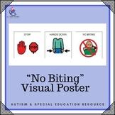 No Biting - 1 Page Poster Visual