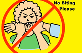 No Biting Please Social Story