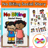 No Biting Social Story for Autism Special Education Behavior