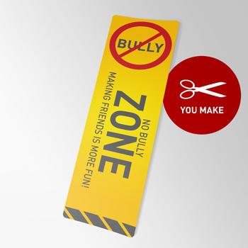 No Bully Zone Bookmarks