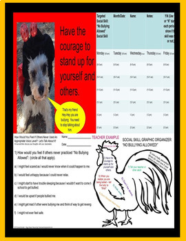 No Bullying Allowed!  Rescue Dogs' Series Social Skill DHH/Autism/Sped/ESL