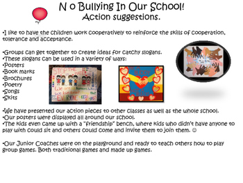 No Bullying Drama Circles Action Activity
