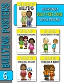 No Bullying Posters for Kindergarten & First Grade