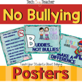 No Bullying Posters for the Classroom