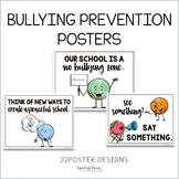 Bullying Prevention Rules Posters
