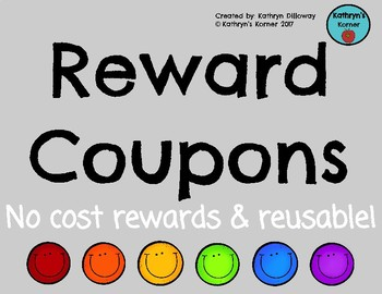 No Cost Reward Coupons
