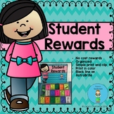 No Cost Student Rewards