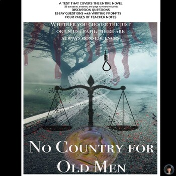 No Country for Old Men (Cormac McCarthy): test; essay questions; teacher notes