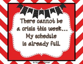 No Crisis Printable Quote