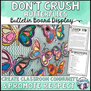 No Crushing Butterflies!