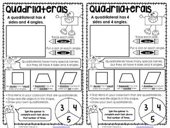 No-Cut Interactive Notebook {Math}: Geometry Edition