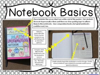No-Cut Interactive Notebook {Math}: Measurement Edition