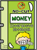 No-Cut Interactive Notebook {Math}: Money Edition