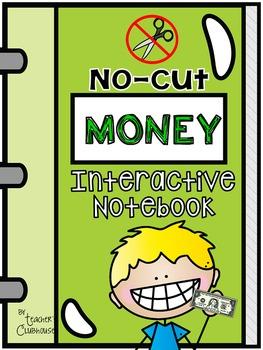 No-Cut Interactive Notebook {Math}: Money Edition