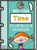 No-Cut Interactive Notebook {Math}: Time Edition