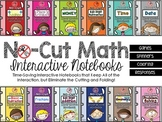 No-Cut Interactive Notebooks BUNDLE: {Math} 2nd Grade