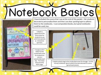 No-Cut Interactive Notebook:  GRAMMAR