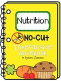 No-Cut Interactive Notebook {Nutrition}