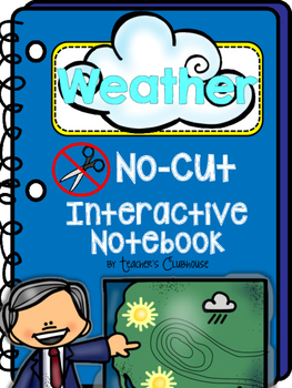 No-Cut Interactive Notebook {Weather}