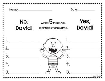 No David - Activities