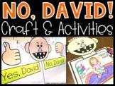 No David Activities, Craft, Anchor Chart & Writing | David Goes to School