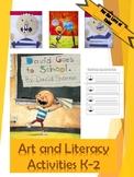 No, David!  Art and Literacy Activities