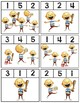 No David! Basic Numbers 1-5 Clip Cards