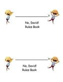 No David Book - Classroom Behaviors - Rules (Back to school)