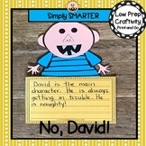 No David Book Companion Write About Reading Cut and Paste