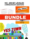 No, David! Comprehension Questions and Yes Town Bundle