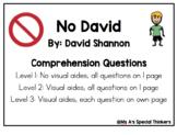 No David Core Vocabulary and Comprehension Questions