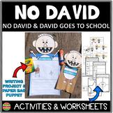 No David, David Goes to School Activities and Worksheets