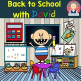 No David Activities {English and Spanish}