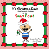 No David, It's Christmas! Smart Board Math Centers & Mini lessons