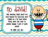 No David! Literacy Centers