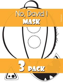 No, David! Mask 3 Pack
