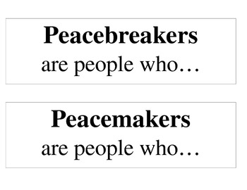 No David Peacemakers Labels Titles