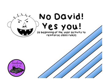 No David! Yes!