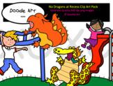 No Dragons at Recess Clip Art Pack