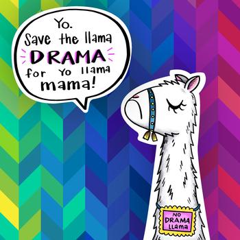 No Drama Llama   Classroom Visual
