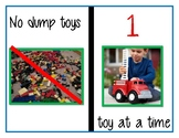 No Dumping Toys / 1 At a Time