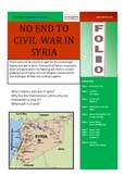 No End to civil war in Syria - FOLIO - Current Affairs