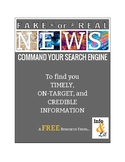 No Fake News - Search Strategies to Command Your Search Engine!