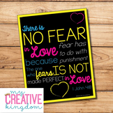 No Fear Poster Freebie