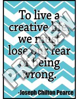 No Fear of Being Wrong Poster