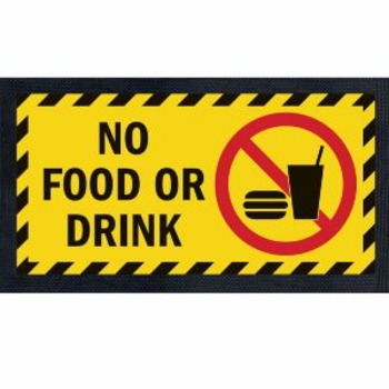 No Food In The Classroom SIGN