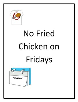 How a Bill becomes a Law: No Fried Chicken on Fridays