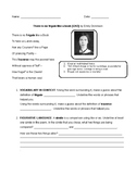 No Frigate Like a Book Worksheet with Reading Strategies
